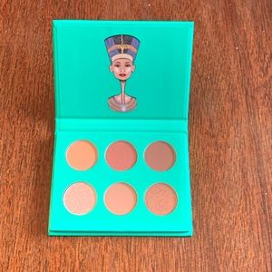 The Nubian by Juvia's Eyeshadow Palette NEW